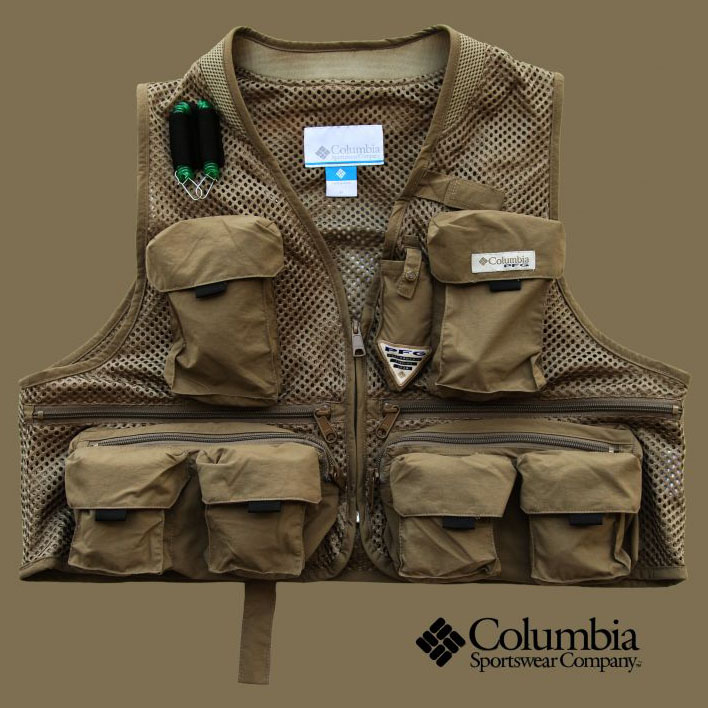 画像1: コロンビア クールクリーク メッシュ フィッシング ベスト/Columbia Cool Creek Mesh Fishing Vest