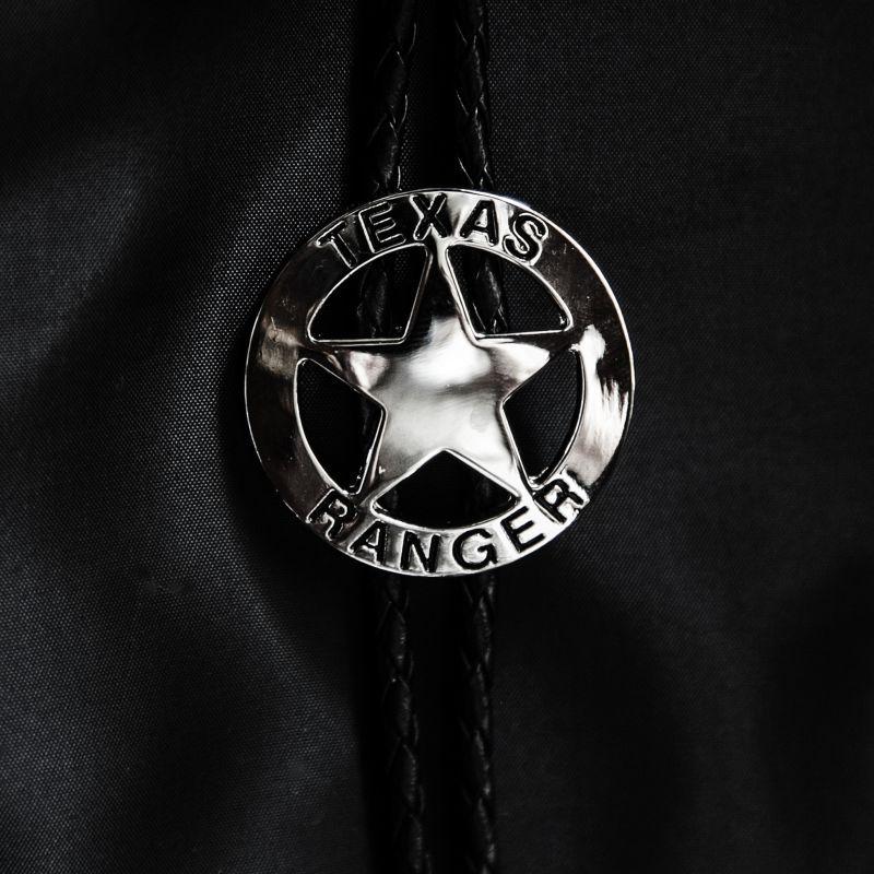 画像1: ウエスタン ボロタイ テキサスレンジャー(シルバー)/Western Bolo Tie