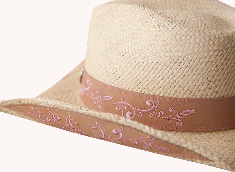 画像2: ブルハイド ウエスタン ストローハット(ビコーズオブユー)/BULLHIDE Western Straw Hat Because of You