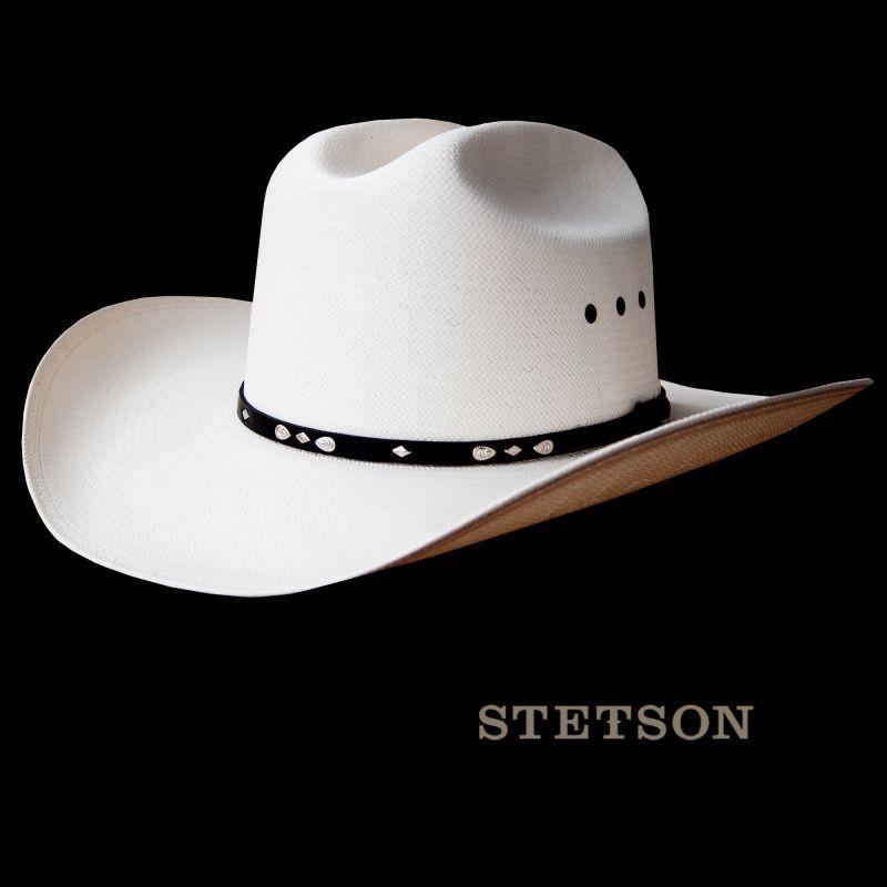 画像1: ステットソン 8X カウボーイハット/Stetson Western Straw Hat