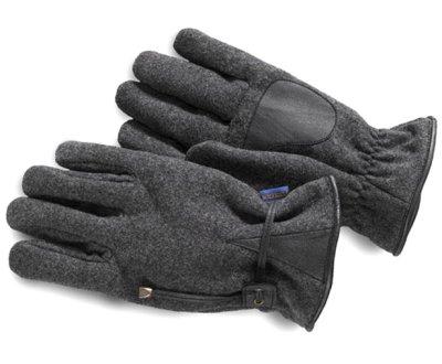画像1: ペンドルトン ウール・レザーグローブ(手袋)・グレー/Pendleton Wool Gloves