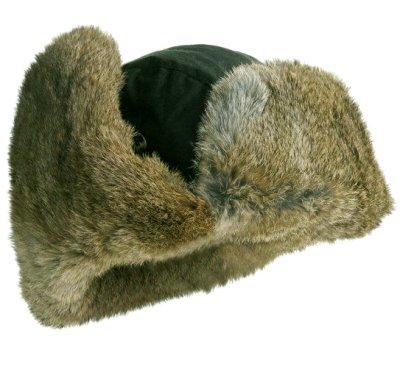 画像2: マッド ボンバー ハット 帽子(ラビット ファー グリーン・ブラック)/Mad Bomber Hat(Green Black)