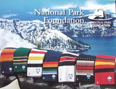 画像2: ペンドルトン ナショナルパーク ブランケット・レー二ア国立公園/Pendleton National Park Blankets(Rainer)