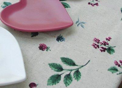 """画像2: テーブルクロス Leaf/Fine Fabric Tabletop Fashions 52""""×70""""Oblong"""