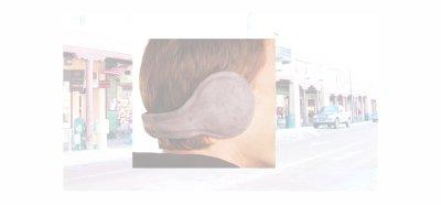 画像2: イヤーウォーマー 180S ワンエイティー Chesterfield Wool Charcoal/180S Ear Warmers