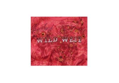 画像2: レディース ウエスタン Tシャツ カウガール/Women's Western T-shirt(Wine)