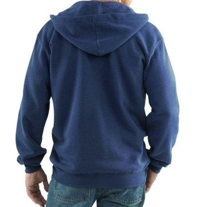画像2: カーハート Carhartt ロゴ スエットパーカ(ネイビー)M/Carhartt Hooded Sweatshirt