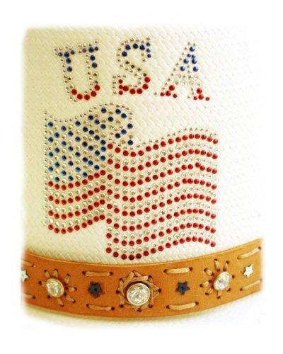 画像2: オンリーインアメリカ レザーバンド ストローハット(ナチュラル)/Western Straw Hat(Only In America)