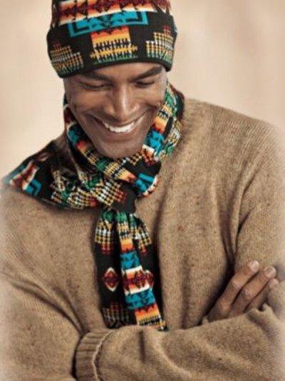 画像1: ペンドルトン シェトランドウール セーター(キャメル)/Pendleton Shetland Wool Sweater