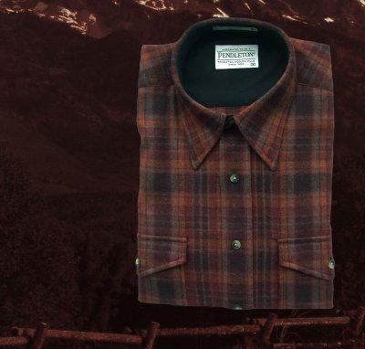 画像1: ペンドルトン アウトドア シャツ(ラスト プラッド)/Pendleton Outdoor Shirt