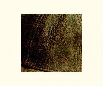 画像2: レザーキャップ(ビンテージブラウン)/Leather Baseball Cap(Brown)