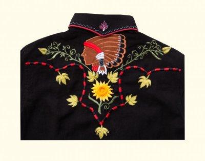 画像3: カサデリアン ウエスタン シャツ・カウガールシャツ(長袖)/Casa de Lien Long Sleeve Western Shirt(For Women)