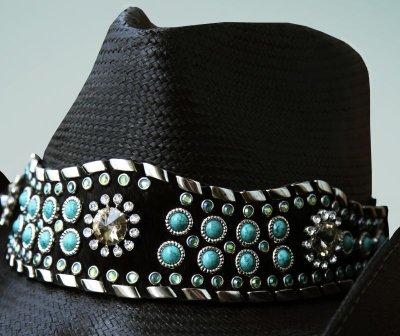 画像2: ブルハイド ウェスタンストローハット(オウン ザ ナイト)/BULLHIDE Western Straw Hat OWN THE NIGHT(Black)