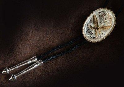 画像2: モンタナシルバースミス ボロタイ イーグル/Montana Silversmiths Bolo Tie