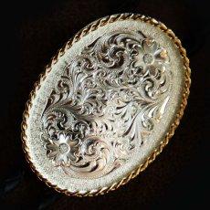 画像2: モンタナシルバースミス ボロタイ エングレーブ/Montana Silversmiths Bolo Tie (2)