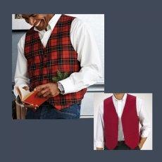 画像1: ペンドルトン リバーシブル ベスト/Pendleton Vest(The Clan Brodie) (1)