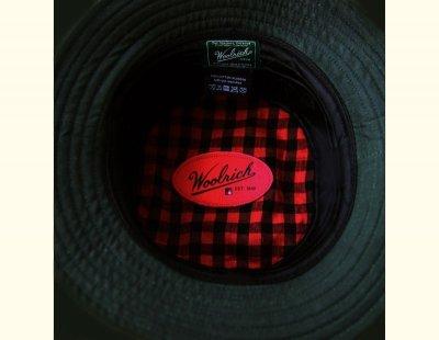 画像2: ウールリッチ オイルドコットン ハット(モスグリーン)/Woolrich Oiled Cotton Hat(Moss)