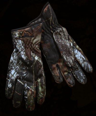 画像1: カモ ハンティング グローブ/Camo Hunting Gloves