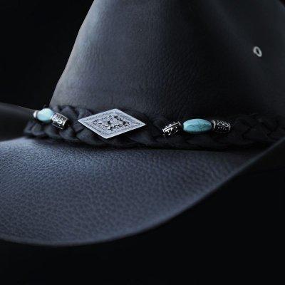 画像2: レザー ハット(ブラック)/Genuine Leather Hat(Black)