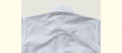 画像2: パンハンドルスリム ウエスタンシャツ(ブラック・無地/長袖)/Panhandle Slim Long Sleeve Western Shirt