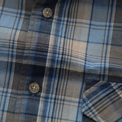 画像2: ペンドルトン 半袖 シャツ(ブルー)L/Pendleton Short Sleeve Shirt