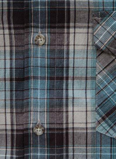 画像2: ペンドルトン 半袖 シャツ(ターコイズ ブルー)S/Pendleton Short Sleeve Shirt