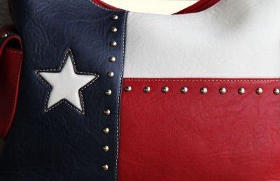 画像2: ローンスター カントリー ハンドバッグ/Bucket Texas Flag