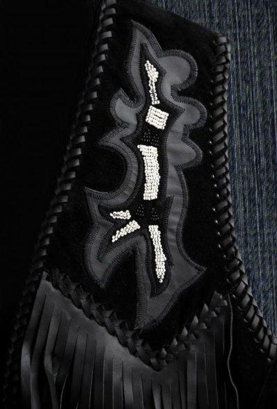 画像2: スカリー ウエスタン レザー フリンジ ベスト(バーボン)/Scully Western Leather Fringe Vest