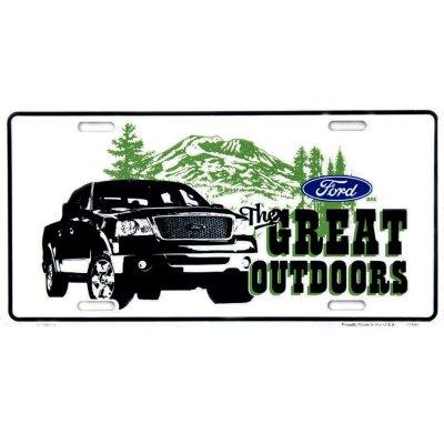 画像1: フォード ライセンスプレート グレイトアウトドア/License Plate