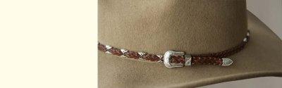 画像2: クラッシャブルウール カウボーイハット(ライトブラウン)/Wool Cowboy Hat(Light Brown)