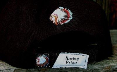 画像3: ネイティブプライド キャップ・インディアンチーフブラック/Native Pride Cap Indian Chief