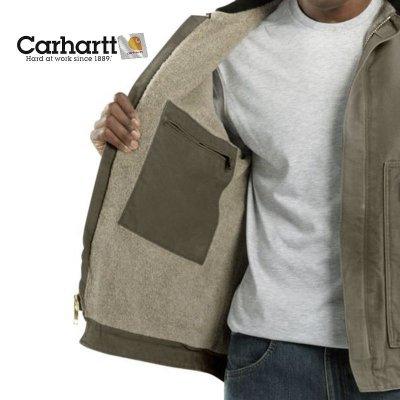 画像2: カーハート サンドストーン ディアボーン ジャケット マッシュルームS/Carhartt Sandstone Jacket