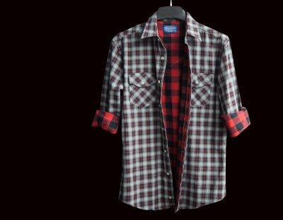 画像2: ペンドルトン ダブルフェイス ビンテージフィットストリートシャツ(長袖)S/Pendleton Long Sleeve Double Face Street Shirt(Black Red Soft Plaid)