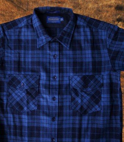 画像2: ペンドルトン ジャパンフィット アウトドアシャツ ブループラッド/Pendleton Outdoor Shirt Blue Plaid