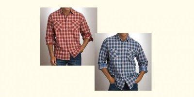 画像3: ペンドルトン ダブルフェイス ビンテージフィットストリートシャツ(長袖)S/Pendleton Long Sleeve Double Face Street Shirt(Black Red Soft Plaid)