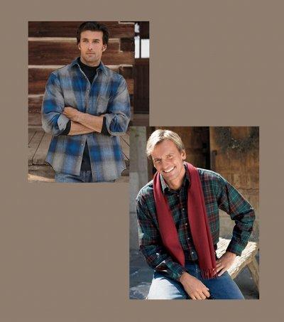 画像3: ペンドルトン ウールシャツ ロッジシャツ ロブロイレッドプラッド/Pendleton Lodge Shirt