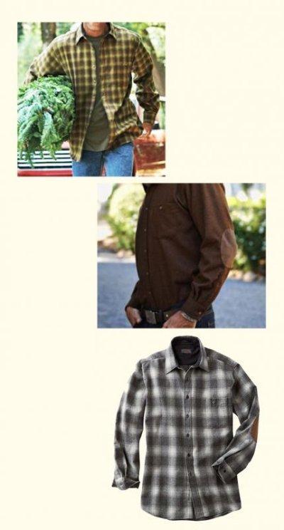 画像2: ペンドルトン ウール シャツ・エルボーパッチ トレイルシャツ ロバートソンタータン/Pendleton Trail Shirt (Robertson Tartan)