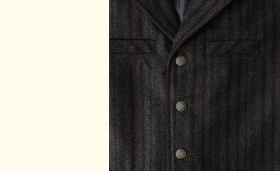 画像2: パンハンドルスリム パウダーリバー ウールベスト(ブラウン)M/Panhandle Slim Wool Vest(Brown)