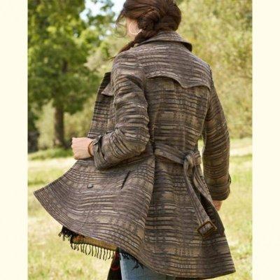 画像2: ペンドルトン ピュアーヴァージンウール トレンチ コートS/Pendleton Coat Sundown(Women's)