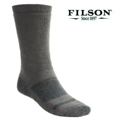 画像1: フィルソン ウール ソックス(厚手仕様)/Filson Merino Wool Socks
