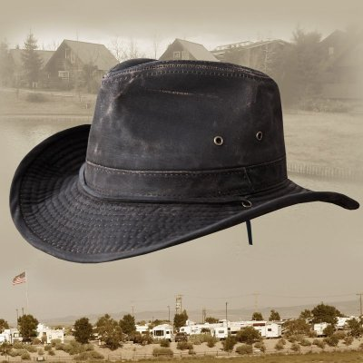 画像1: DPC ドーフマン パシフィック アウトドア ハット(ダークブラウン)/Dorfman Pacific Outdoor Hat(Dark Brown)