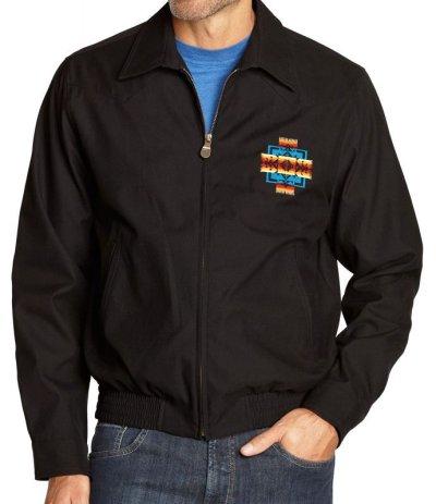 画像1: ペンドルトン チーフジョセフ ジャケット ブラック/Pendleton Jacket(Chief Joseph Black)