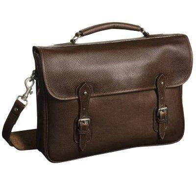 画像1: タスティング イングランド レザー ブリーフケース/Tusting Leather Briefcase