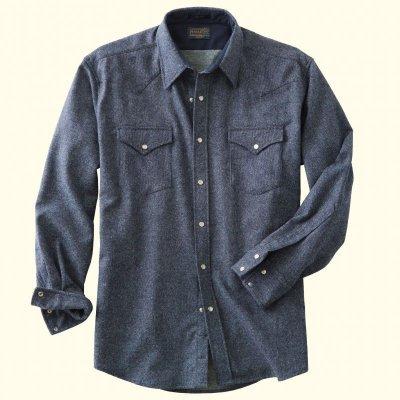 画像3: ペンドルトン ウエスタンシャツ(ターコイズオンブレ)/Pendleton Western Shirt