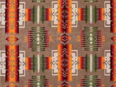 画像2: PENDLETON ペンドルトン ジャガードバスタオル(チーフジョセフ カーキ)/Pendleton Chief Joseph  Spa Towel(Khaki)