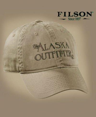 画像1: フィルソン アラスカ アウトフィッターズ キャップ(タン)/Filson Cap