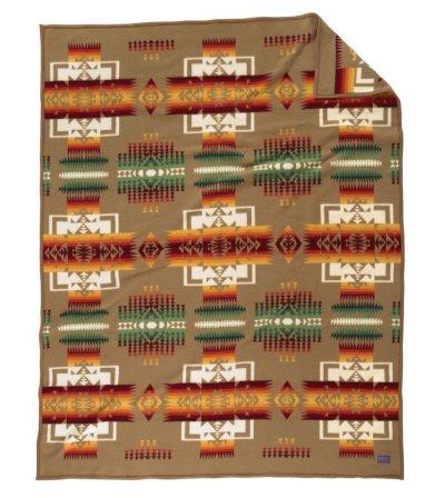 画像2: ペンドルトン チーフジョセフ ブランケット(タン)/Pendleton Chief Joseph Collection(Tan)