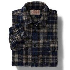 画像2: フィルソン ノースウエスト ウールシャツ(ダークブループラッド)/Filson Northwest Wool Shirt (2)