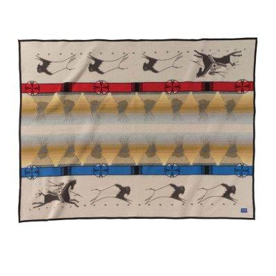 画像1: ペンドルトン ブランケット ラコタウェイオブライフ /Pendleton Lakota Way of Life Blanket