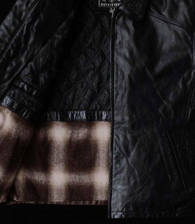画像3: ボマー ジャケット(ブラック)M/Leather Bomber Jacket(Black)